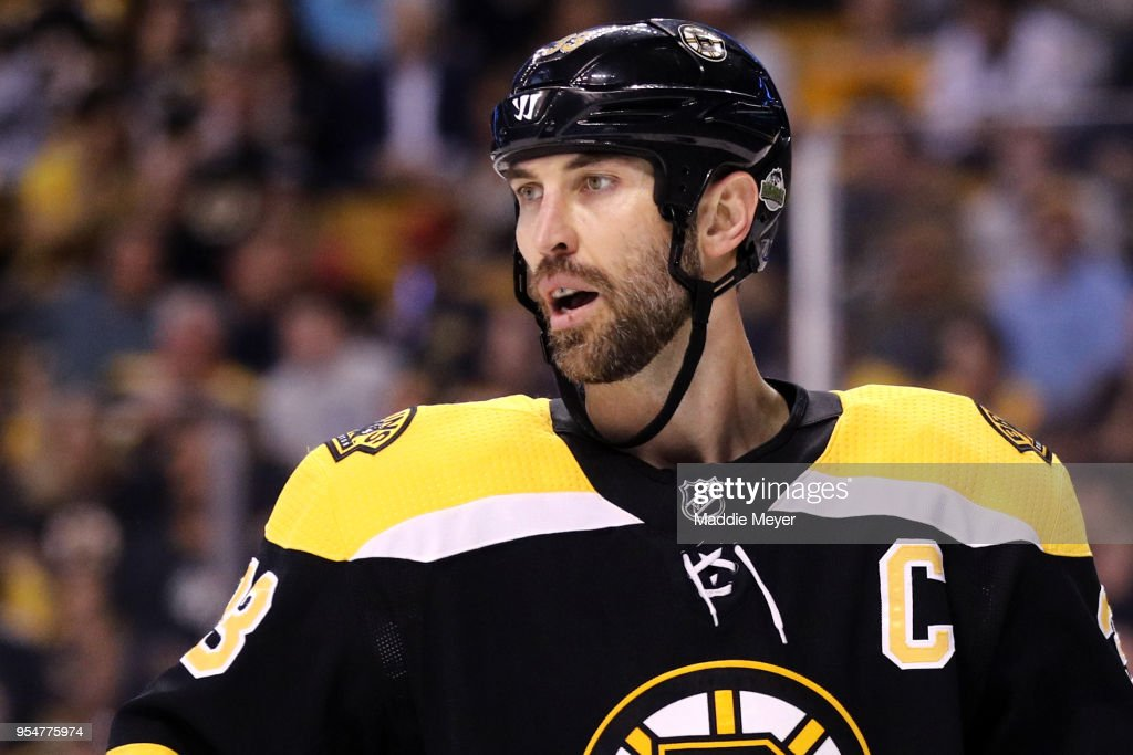Tampa Bay Lightning v Boston Bruins - Game Four : News Photo