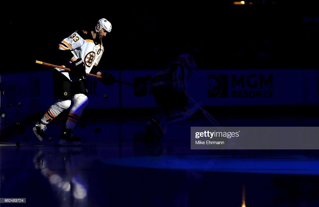 Boston Bruins v Tampa Bay Lightning - Game One : News Photo