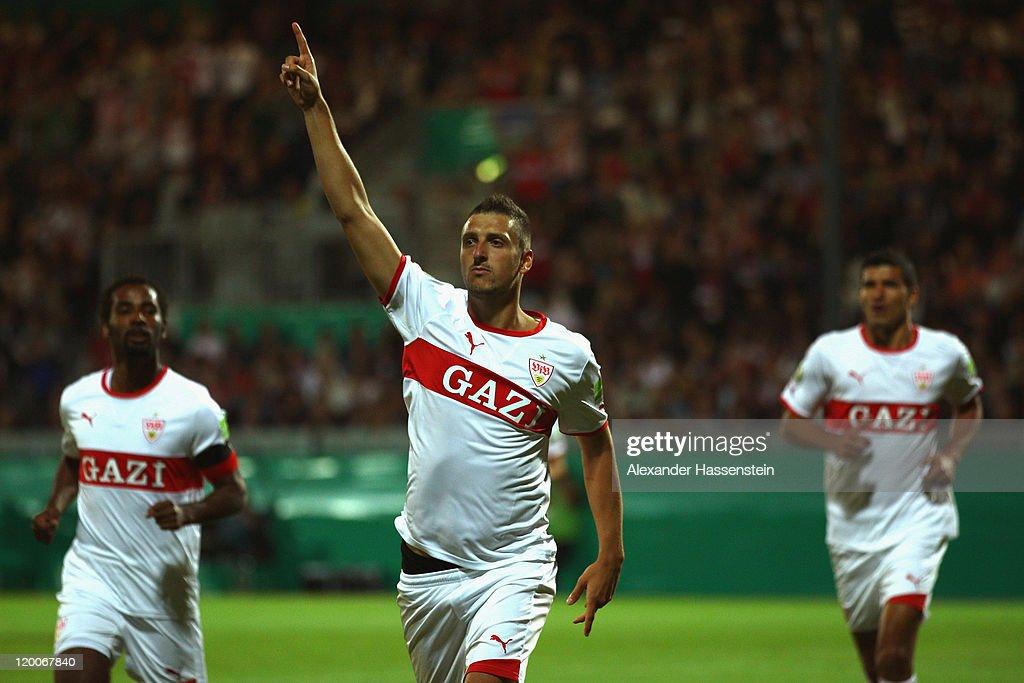 Wehen-Wiesbaden v VfB Stuttgart - DFB Cup