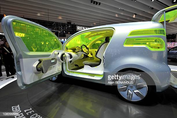 Renault Ze Concept Stock Photos And Pictures Getty Images