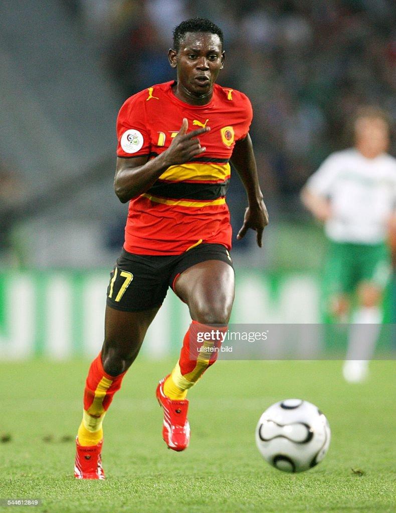 Ze Kalanga Sportler Fussball Angola Fifa Wm 2006