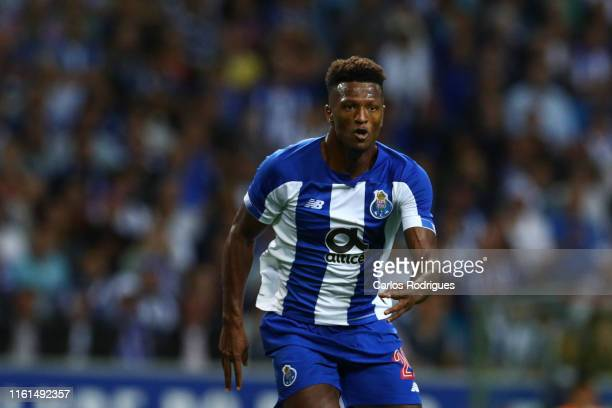 Ze Luis of FC Porto celebrates after scoring a goal during the match FC Porto v FC Krasnodar UEFA Champions League Third Qualifying Round at Estadio...