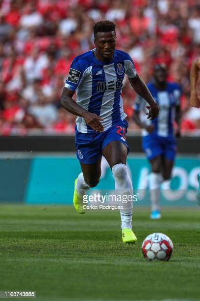 Ze Luis of FC Porto during the Liga Nos round 3 match between SL Benfica and FC Porto at Estadio da Luz on August 24 2019 in Lisbon Portugal