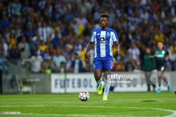 Ze Luis of FC Porto during the match FC Porto v FC Krasnodar UEFA Champions League Third Qualifying Round at Estadio do Dragao on August 13 2019 in...