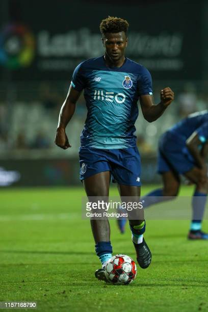 Ze Luis of FC Porto during the match FC Porto v Getafe CF Copa Iberica Final at Portimao Estadio on July 21 2019 in Portimao Portugal