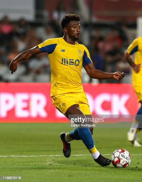 Ze Luis of FC Porto during the match Real Betis v FC Porto Copa Iberica at Estadio Municipal de Portimao on July 19 2019 in Portimao Portugal