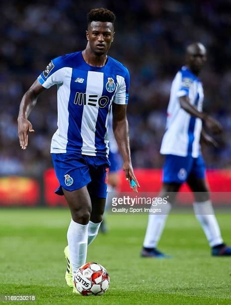Ze Luis of FC Porto in action during the Liga Nos match between FC Porto and Vitoria FC at Estadio do Dragao on August 17 2019 in Porto Portugal