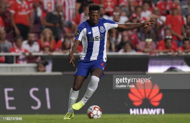 Ze Luis of FC Porto in action during the Liga NOS match between SL Benfica and FC Porto at Estadio da Luz on August 24 2019 in Lisbon Portugal