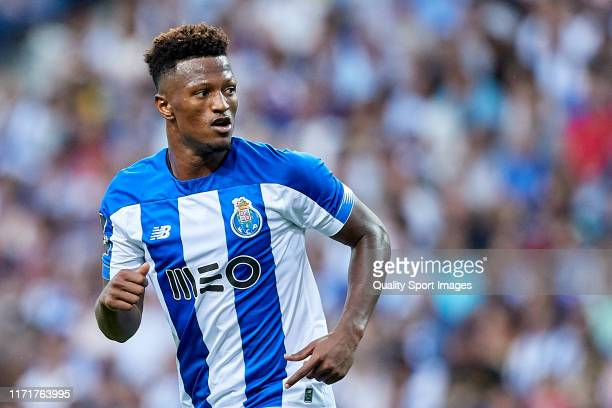 Ze Luis of FC Porto looks on during the Liga Nos match berween FC Porto and Vitoria SC at Estadio do Dragao on September 01 2019 in Porto Portugal