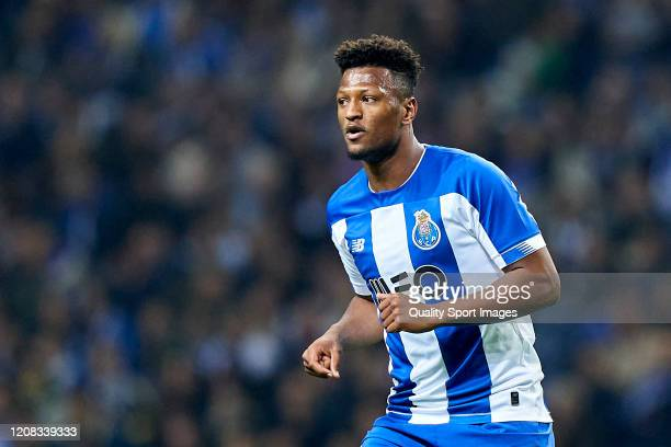 Ze Luis of FC Porto looks on during the Liga Nos match between FC Porto and Portimonense SC at Estadio do Dragao on February 23, 2020 in Porto,...