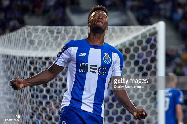 Ze Luis of FC Porto reacts during the Liga NOS match between FC Porto and Vitoria FC at Estadio do Dragao on August 17, 2019 in Porto, Portugal.