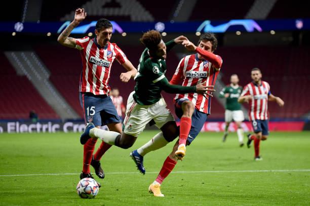 ESP: Atletico Madrid v Lokomotiv Moskva: Group A - UEFA Champions League