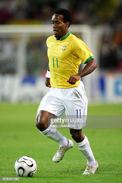 Ze Roberto during the 2006 FIFA World Cup match between Japan and Brazil in Dortmund Germany