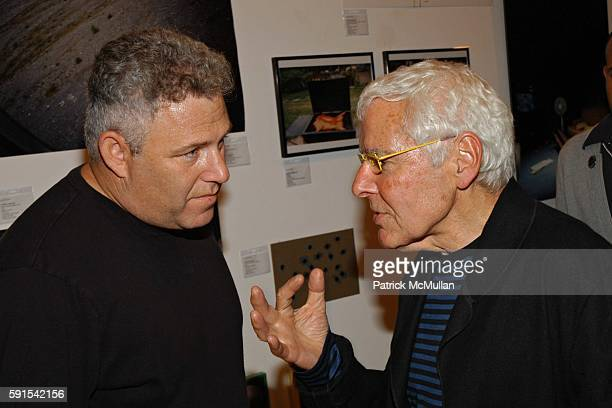 Zeb Geller and Michael Gold attend LAXART's Launch Party and Silent Auction on November 5 2005 in Los Angeles California