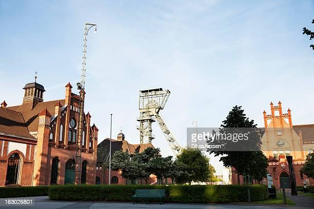 zeche zollern former coal mine - dortmund 個照片及圖片檔