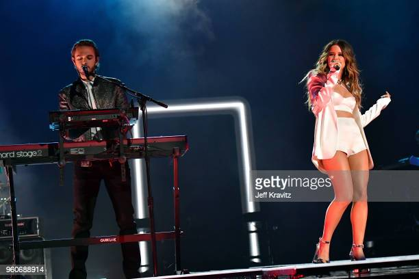 Zedd and Maren Morris perform onstage during the 2018 Billboard Music Awards at MGM Grand Garden Arena on May 20 2018 in Las Vegas Nevada