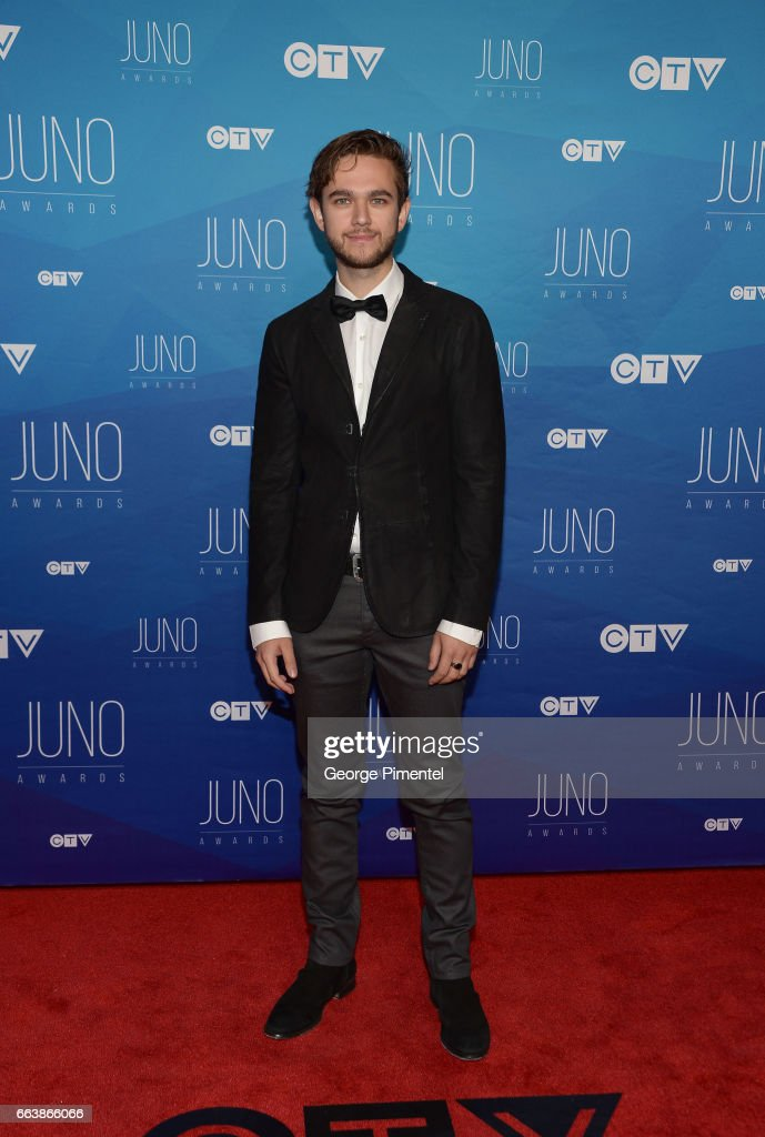 Zedd arrives at the 2017 Juno Awards at Canadian Tire Centre on April 2, 2017 in Ottawa, Canada.