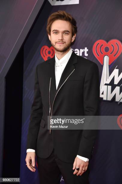Zedd arrives at the 2018 iHeartRadio Music Awards which broadcasted live on TBS TNT and truTV at The Forum on March 11 2018 in Inglewood California