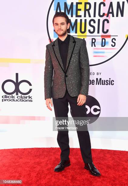Zedd attends the 2018 American Music Awards at Microsoft Theater on October 9 2018 in Los Angeles California