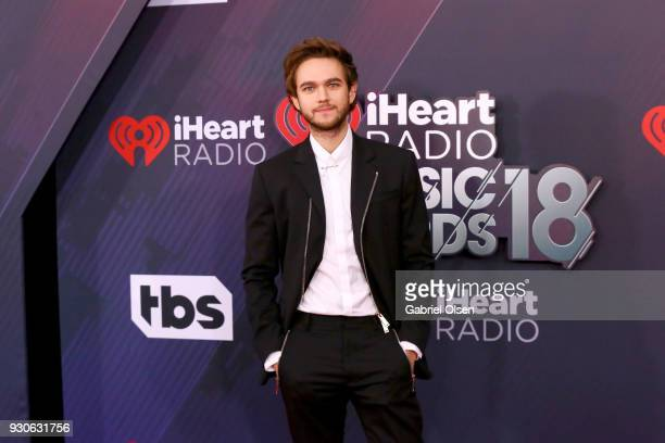 Zedd attends the 2018 iHeartRadio Music Awards at the Forum on March 11 2018 in Inglewood California