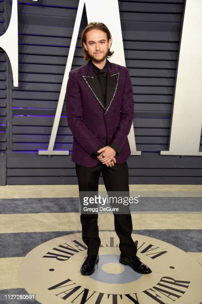 Zedd attends the 2019 Vanity Fair Oscar Party hosted by Radhika Jones at Wallis Annenberg Center for the Performing Arts on February 24 2019 in...