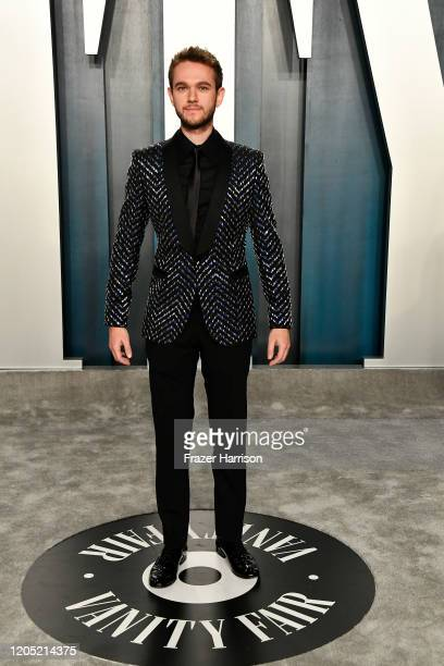 Zedd attends the 2020 Vanity Fair Oscar Party hosted by Radhika Jones at Wallis Annenberg Center for the Performing Arts on February 09 2020 in...