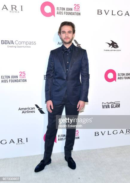 Zedd attends the 26th annual Elton John AIDS Foundation's Academy Awards Viewing Party at The City of West Hollywood Park on March 4 2018 in West...