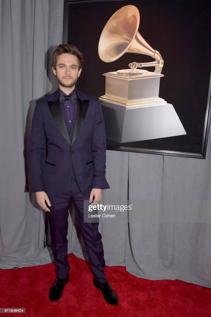 DJ Zedd attends the 60th Annual GRAMMY Awards at Madison Square Garden on January 28, 2018 in New York City.