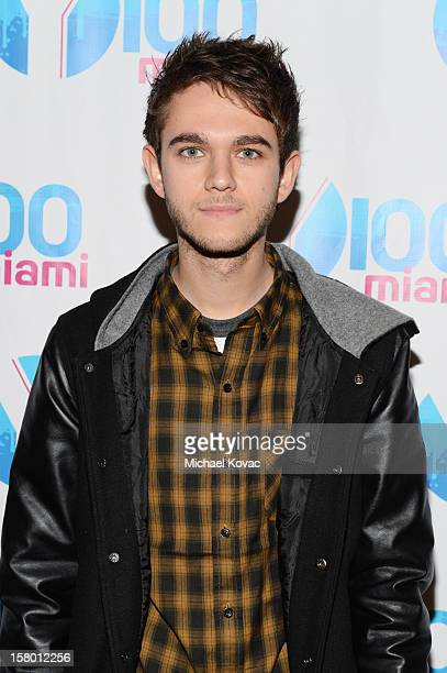 Zedd attends the Y100's Jingle Ball 2012 at the BBT Center on December 8 2012 in Miami