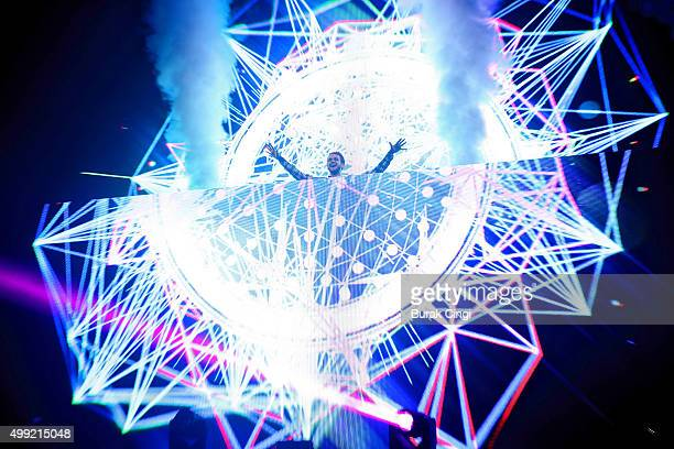 Zedd perfoms live on stage at The Forum on November 29 2015 in London England