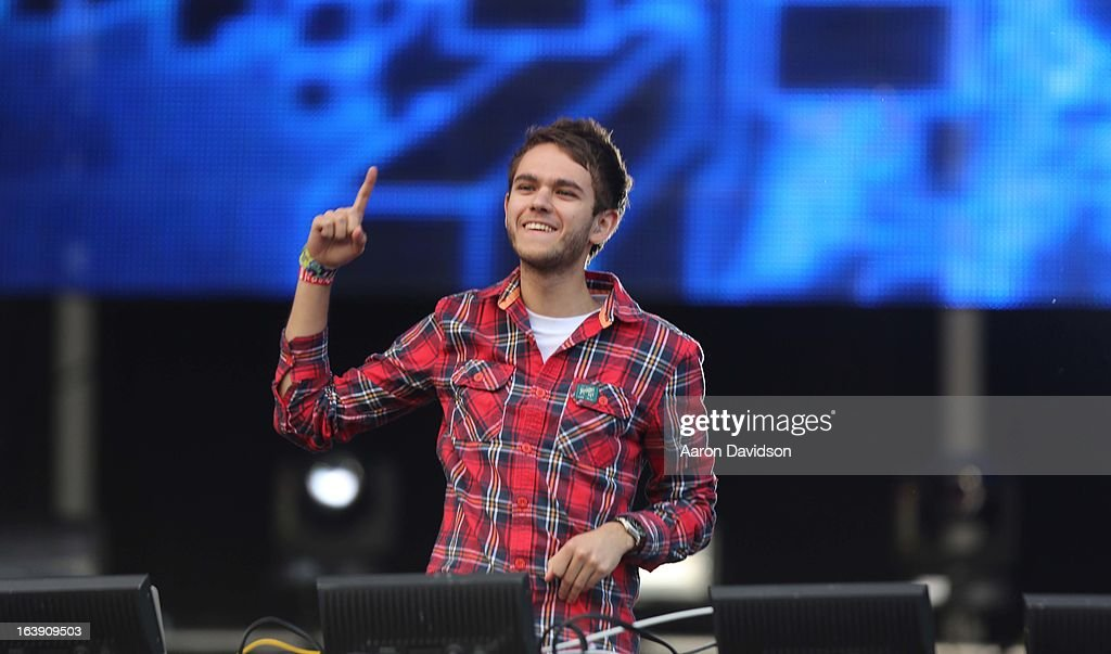 Zedd performs at Ultra Musci Festival - Weekend 1 at Bayfront Park Amphitheater on March 17, 2013 in Miami, Florida.