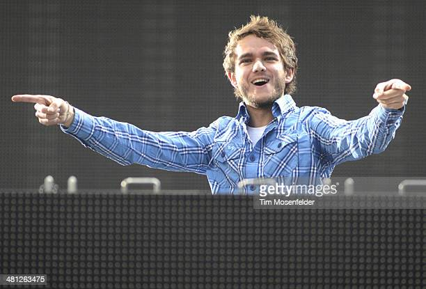 Zedd performs during the Ultra Music Festival at Bayfront Park Amphitheater on March 28 2014 in Miami Florida