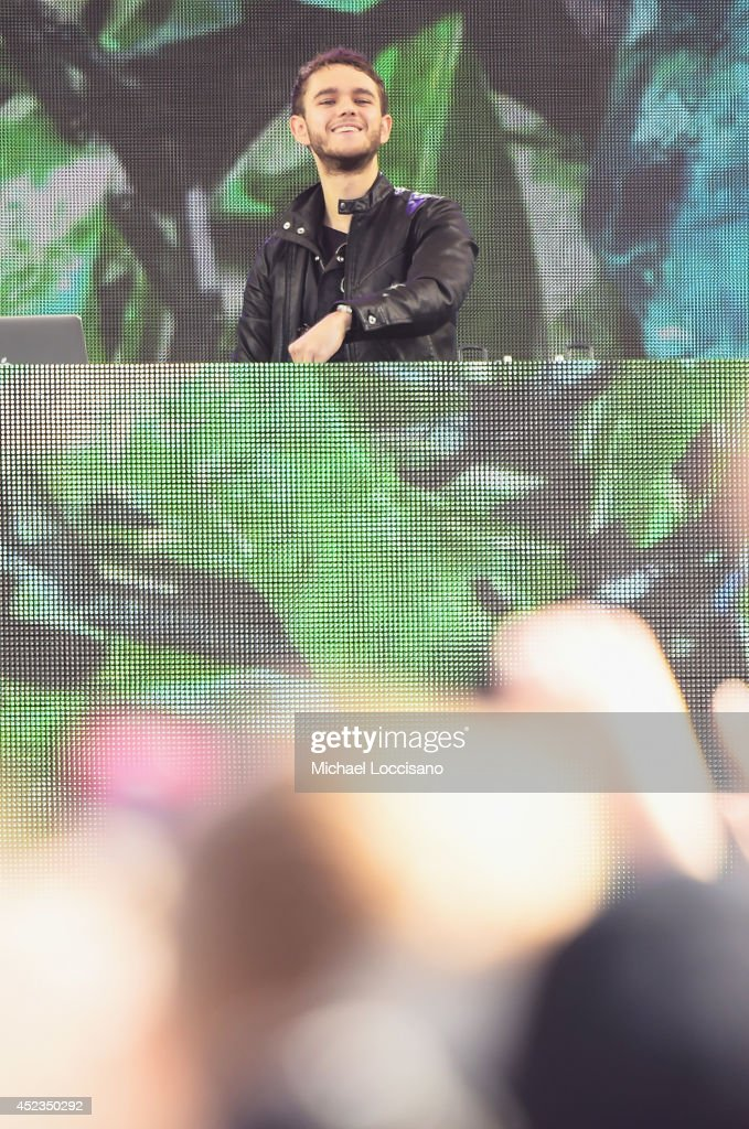 Zedd performs on ABC's 'Good Morning America' at Rumsey Playfield, Central Park on July 18, 2014 in New York City.