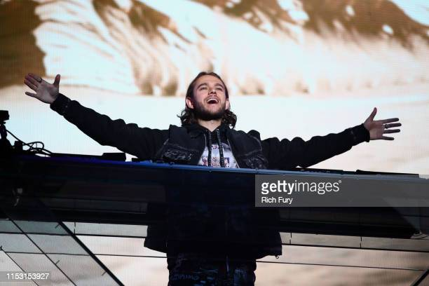 Zedd performs onstage at 2019 iHeartRadio Wango Tango presented by The JUVÉDERM® Collection of Dermal Fillers at Dignity Health Sports Park on June...