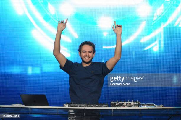 Zedd performs onstage during 933 FLZ's Jingle Ball 2017 at Amalie Arena on December 16 2017 in Tampa Florida