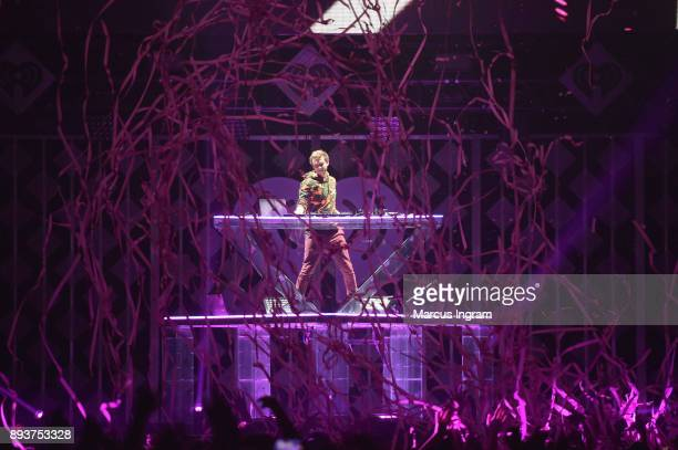 Zedd performs onstage during Power 961's Jingle Ball 2017 Presented by Capital One at Philips Arena on December 15 2017 in Atlanta Georgia