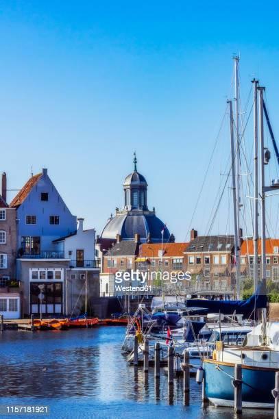 zeeland, middelburg, oostkerk - middelburg netherlands stock pictures, royalty-free photos & images