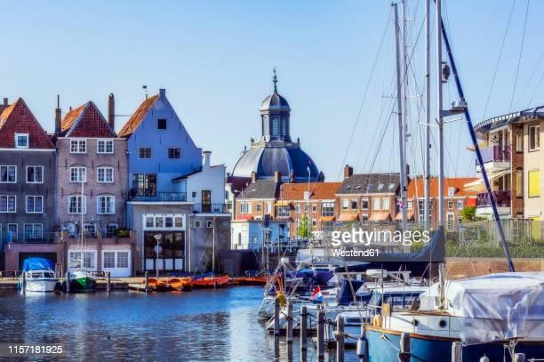 zeeland, middelburg, oostkerk - zeeland stock pictures, royalty-free photos & images