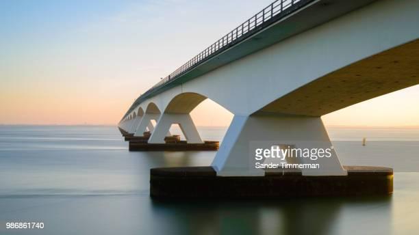 zeelandbrug - zeeland stock pictures, royalty-free photos & images
