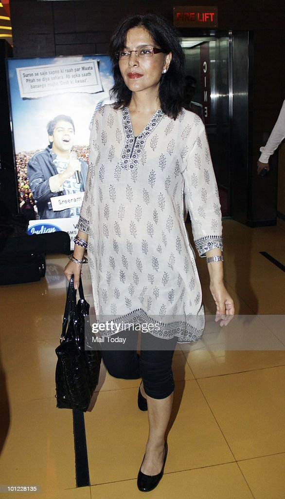 Zeenat Aman at the premiere of the film Prince of Persia:The Sands of Time in Mumbai on May 27, 2010.