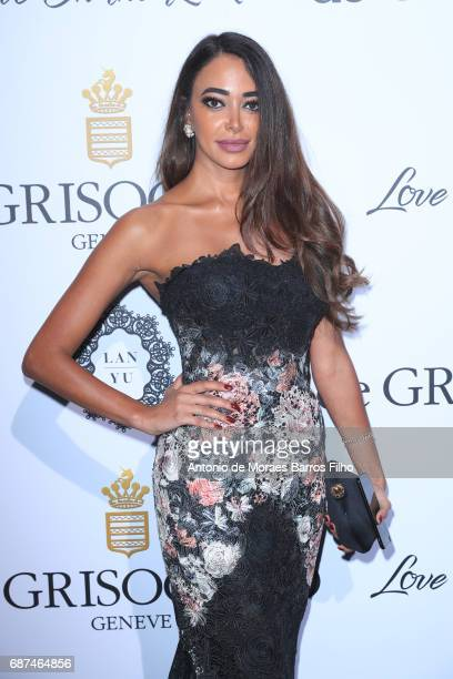 Zeina Nabulsi attends the De Grisogono party during the 70th annual Cannes Film Festival at Hotel du CapEdenRoc on May 23 2017 in Cap d'Antibes France