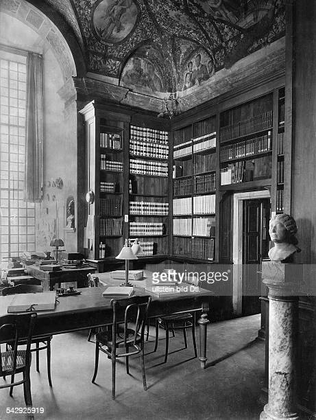 Zeitschriftenraum der Bibliotheca Hertziana MaxPlanckInstitut für Kunstgeschichte Rom Italien eröffnet 1913 als Institut der...