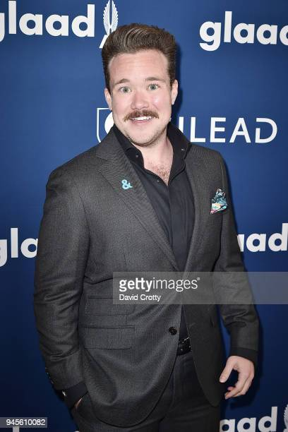 Zeke Smith attends the 29th Annual GLAAD Media Awards Arrivals at The Beverly Hilton Hotel on April 12 2018 in Beverly Hills California