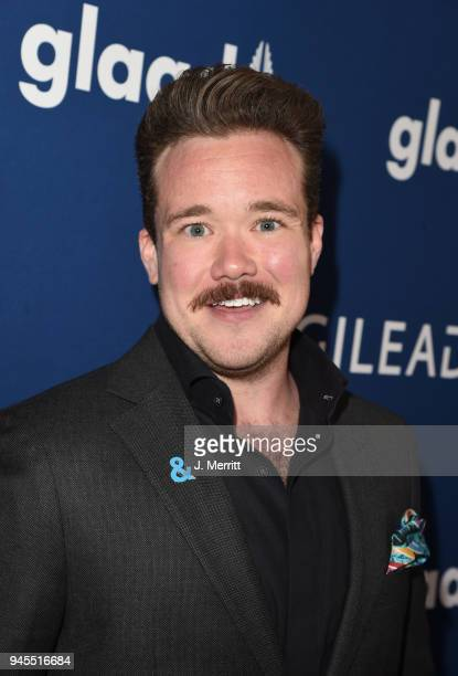 Zeke Smith attends the 29th Annual GLAAD Media Awards at The Beverly Hilton Hotel on April 12 2018 in Beverly Hills California