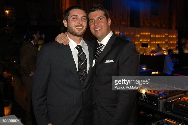 Zeke Stern and Chris Stern attend LIZZIE GRUBMAN and CHRIS STERN Wedding Reception at Cipriani 42nd on March 18 2006 in New York City