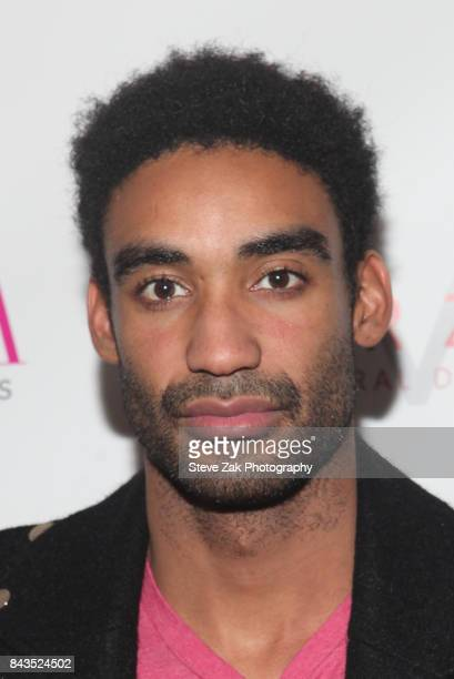 Zeke Thomas attends Bella Magazine NYFW Kickoff Party at The Attic Rooftop Lounge on September 6 2017 in New York City