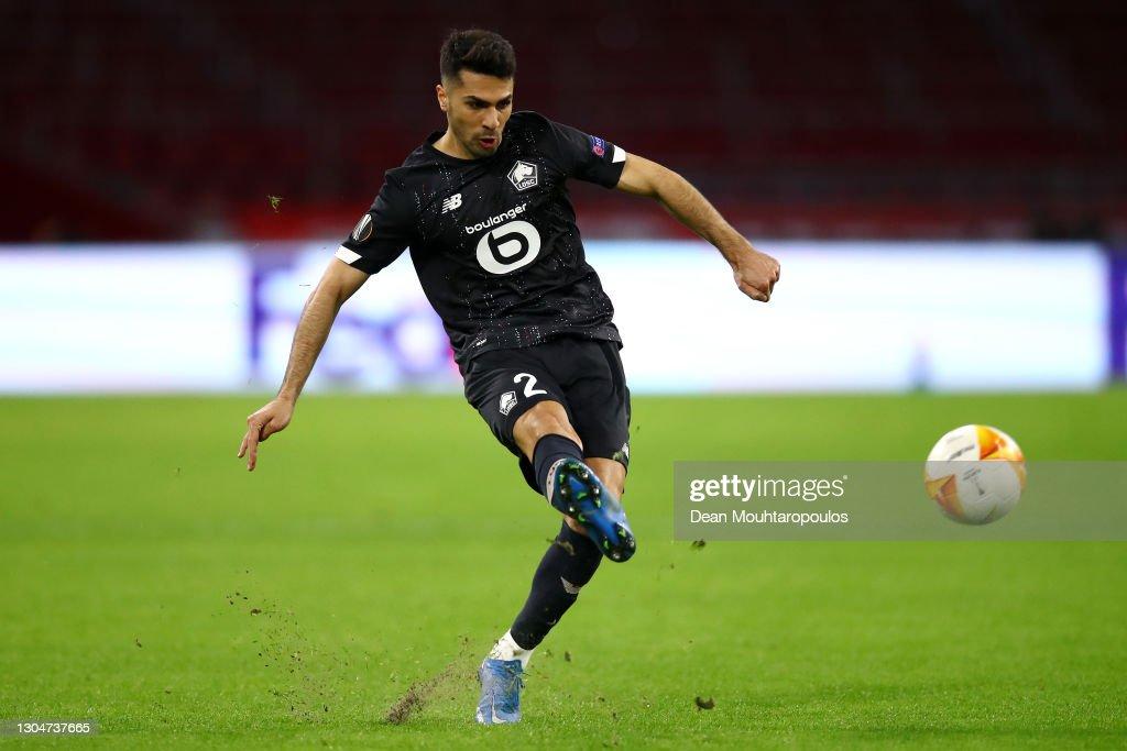 AFC Ajax v Lille OSC  - UEFA Europa League Round Of 32 Leg Two : News Photo