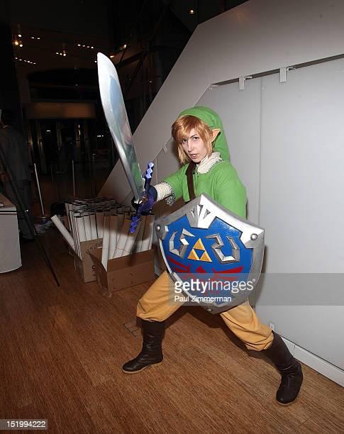 Zelda attends The Legend of Zelda Symphony of the Goddesses at Nintendo World Store on September 14 2012 in New York City