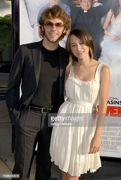 Zelda Williams and guest during 'License To Wed' Los Angeles Premiere Arrivals at Cinerama Dome in Hollywood California United States