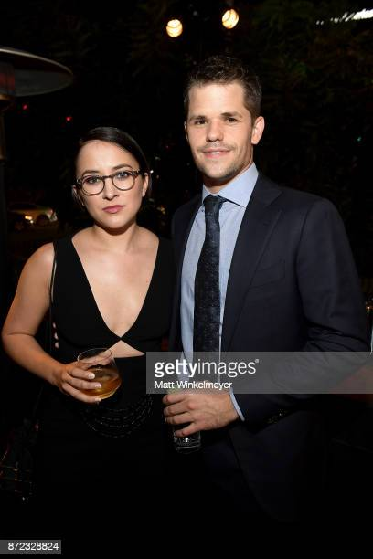 Zelda Williams and Max Carver attend the SAGAFTRA Foundation Patron of the Artists Awards 2017 at the Wallis Annenberg Center for the Performing Arts...